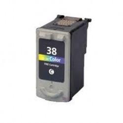 CL-38 3C Canon Pixma iP1800/ iP1900 / iP2500 / iP2600     MP140 / MP190 / MP210 /MP220 / MP470/ MX300 / MX310