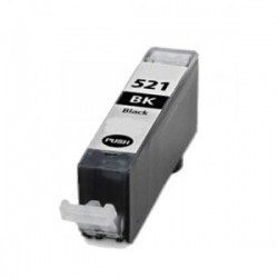 CLI-521 BK Canon Pixma iP3600/ iP4600/ MP540/ MP620/ MP630/ MP980